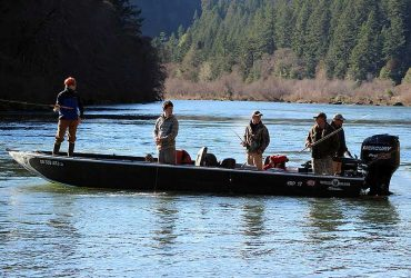 Fishing the Rogue River